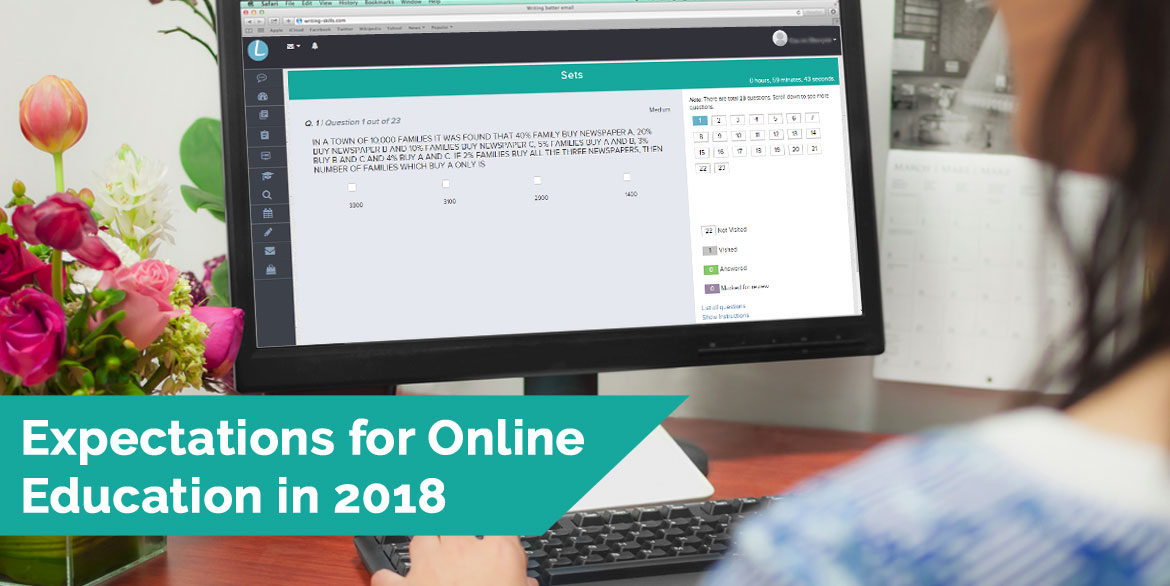Expectations for online education in 2018