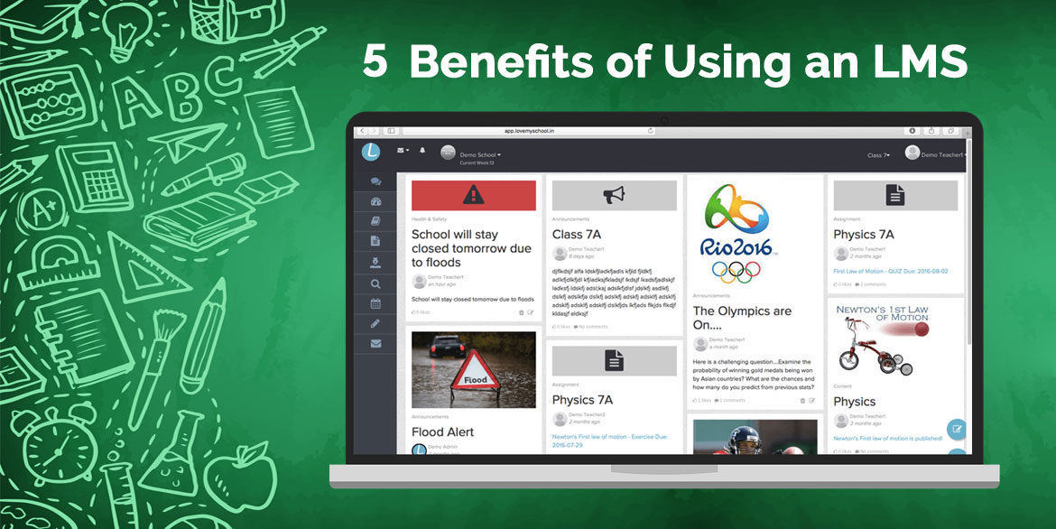 5 benefits of using an LMS